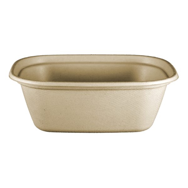 square fiber bowl