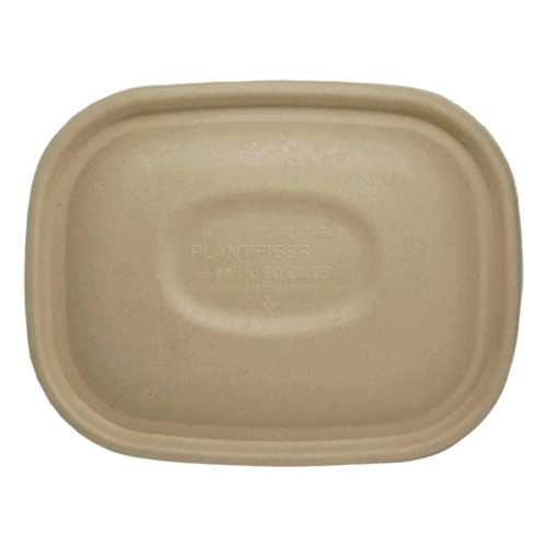 square fiber lid