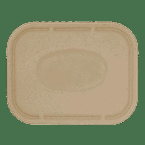 fiber square lid