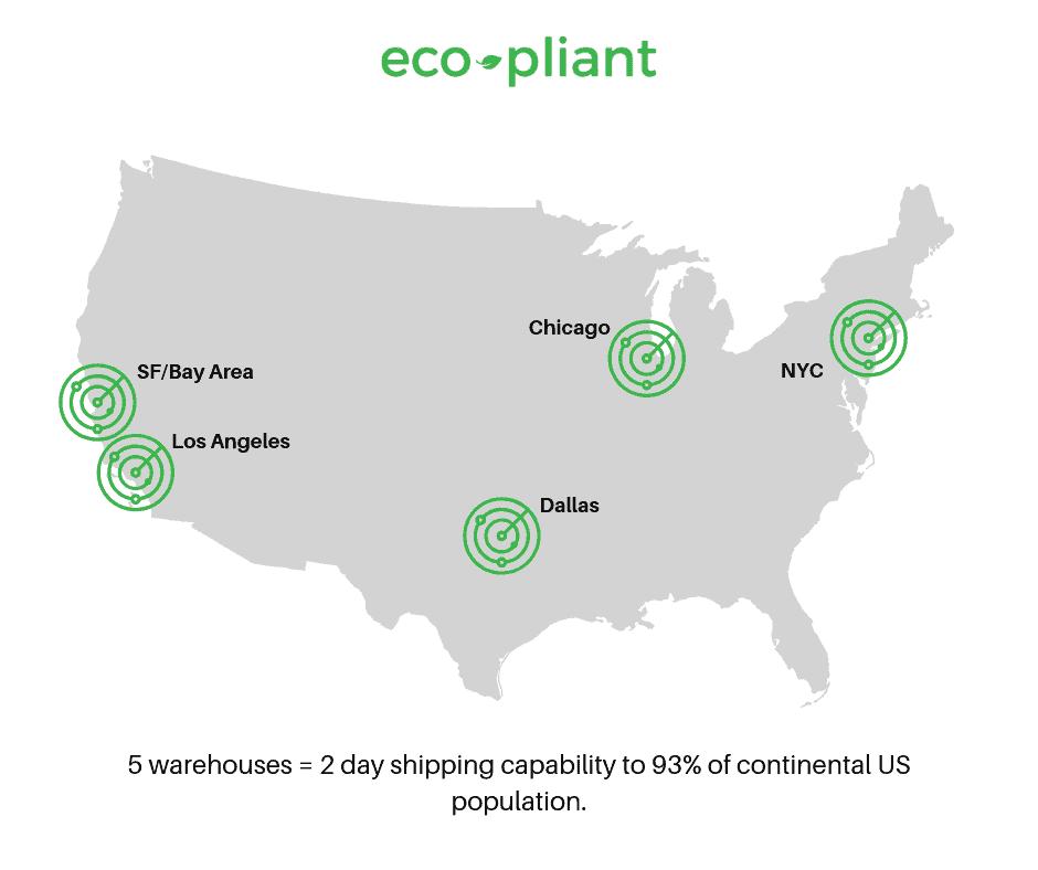 eco pliant locations
