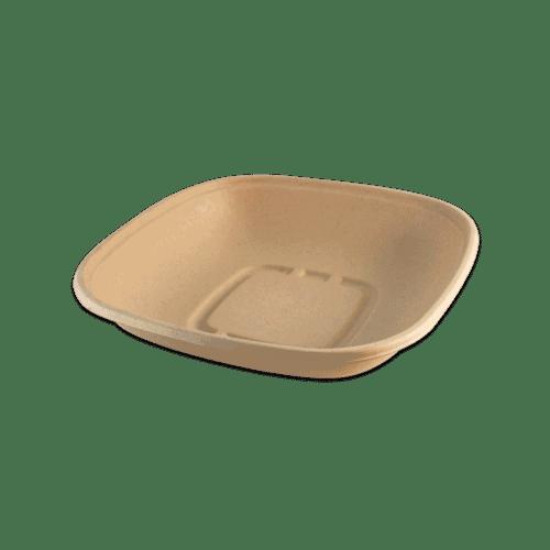 fiber lid for square bowls