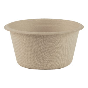 Compostable portion cups and lids
