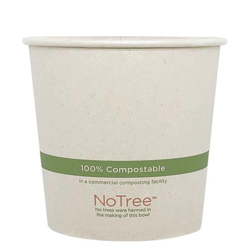 NoTree compostable bowl 24 oz