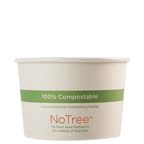NoTree bowl 80z compostable