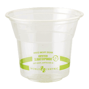 clear 10 oz cold cup