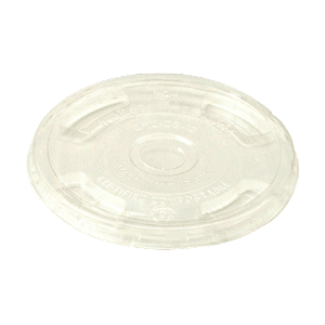 clear, straw hole cold cup LID PLA 9Q-24 oz