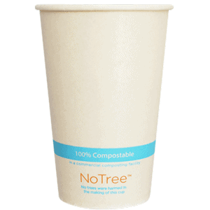 NoTree compostable cup