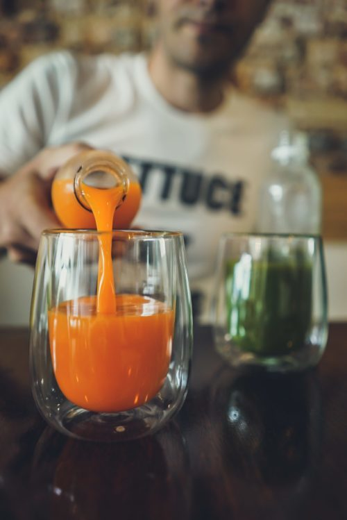 how equity crowdfunding benefited a juice chain