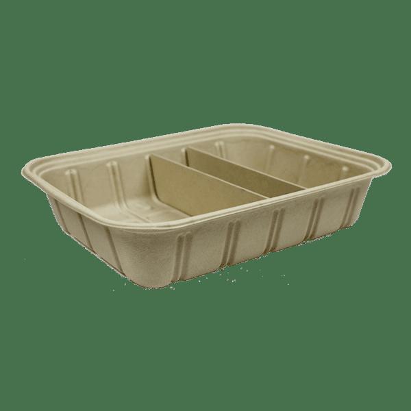 half size fiber catering pan, raised 120 oz