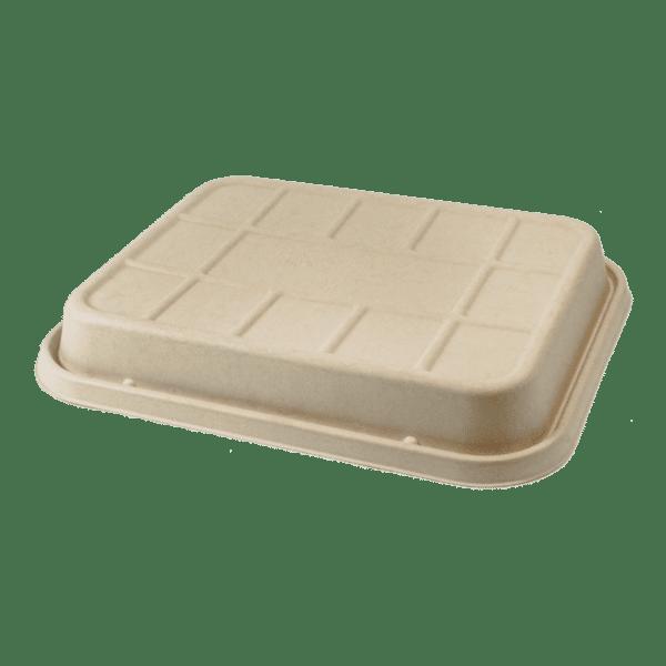 half size LID fiber catering pan, raised 104-120 oz