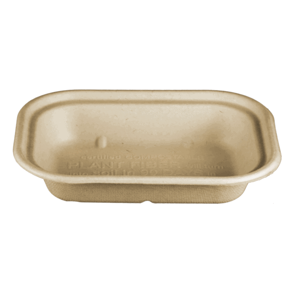 compostable fiber container 17oz
