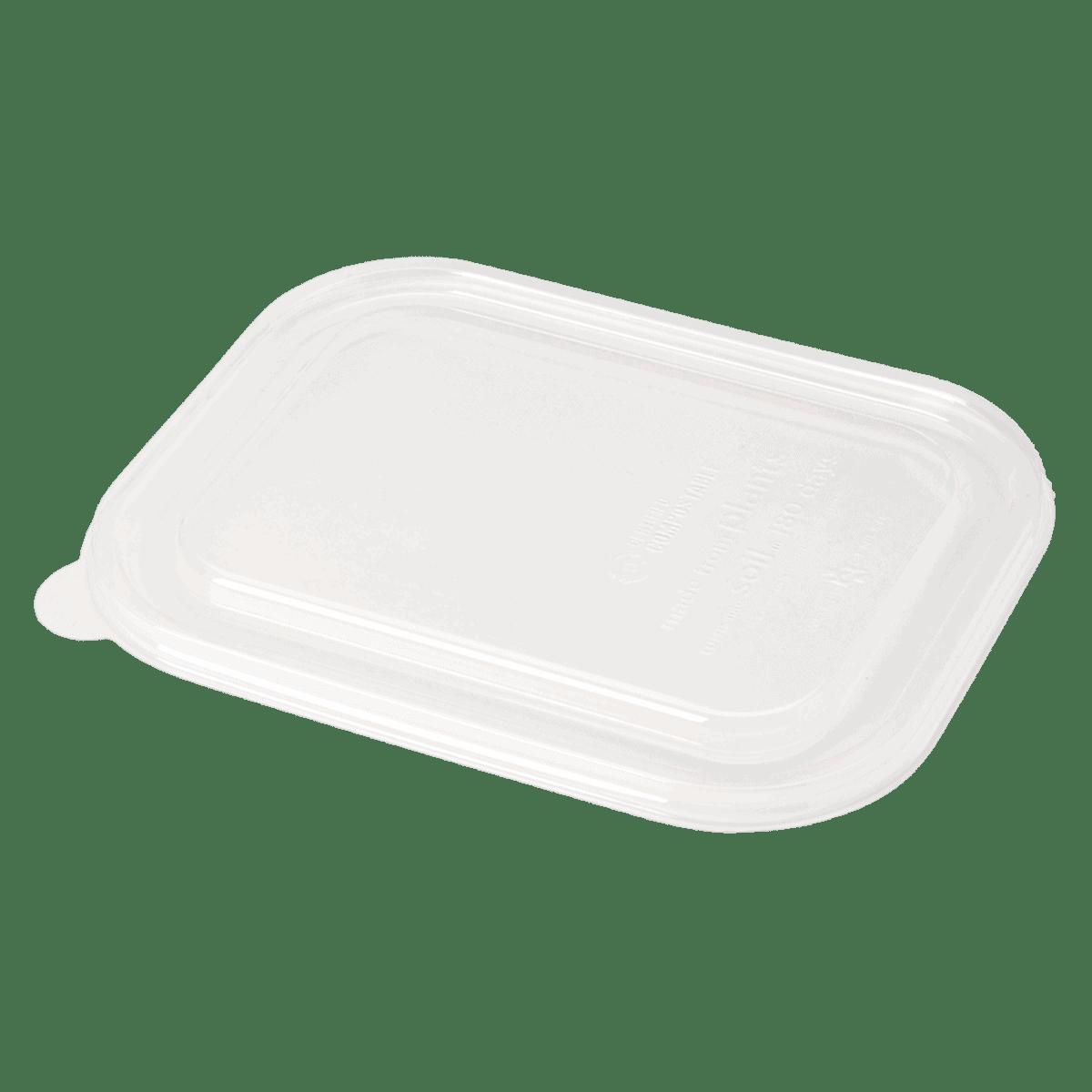 LID PLA clear lid for TR-SC-U8, TR-SC-U8L fiber containers