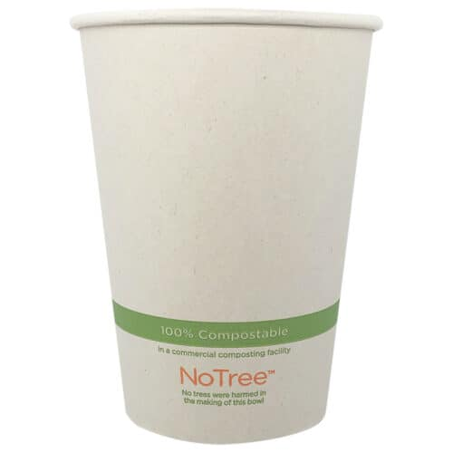 NoTree 32 oz paper bowl compostable
