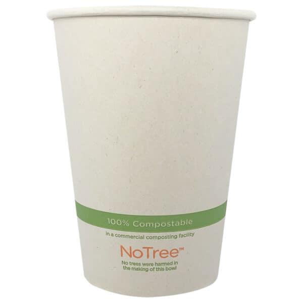 NoTree 32 oz paper bowl compostable