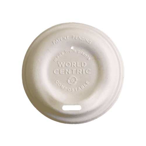 Fiber LID 8oz hot cups