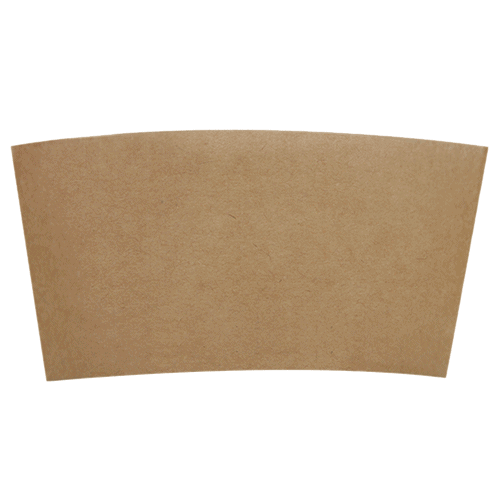 paper Kraft coffee sleeve 10 oz