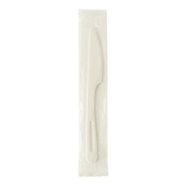 Compostable Knife individually wrapped