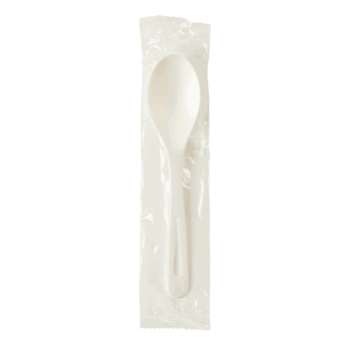 compostable spoon individually wrapped