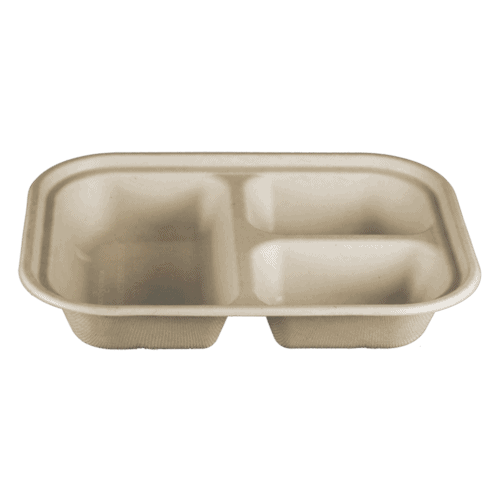 3 compartment fiber container 29 ounces