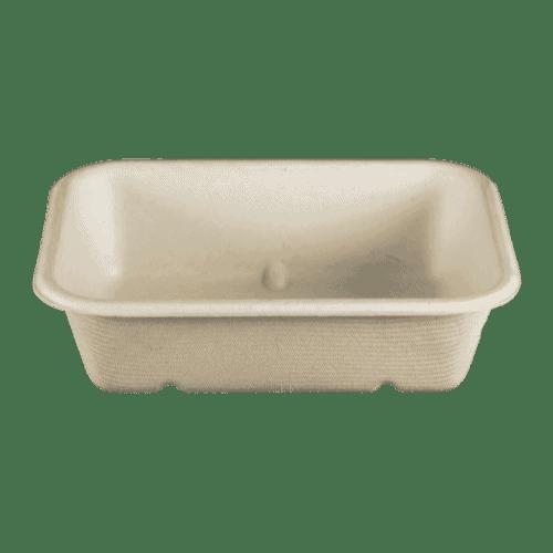 20oz fiber container compostable
