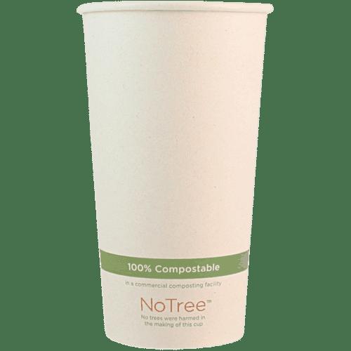 20oz compostable paper cup
