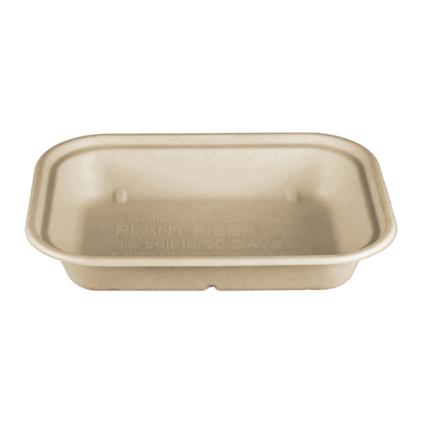 36oz fiber container compostable