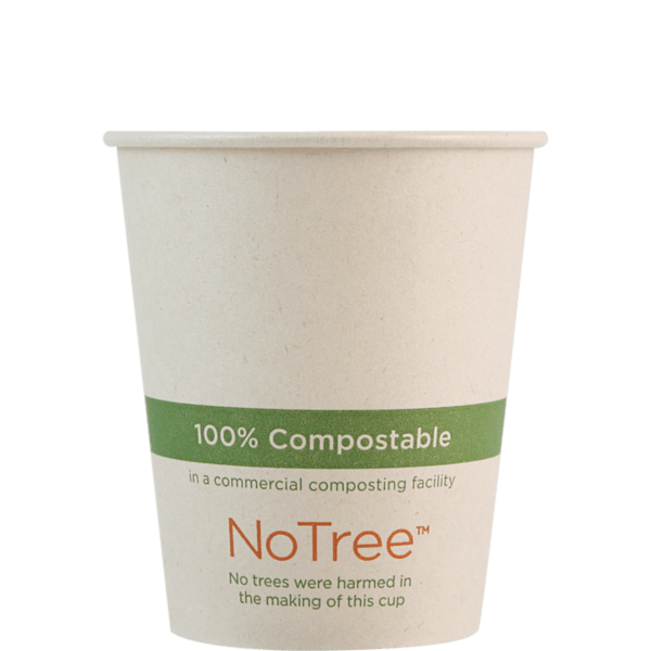 6oz compostable paper cup