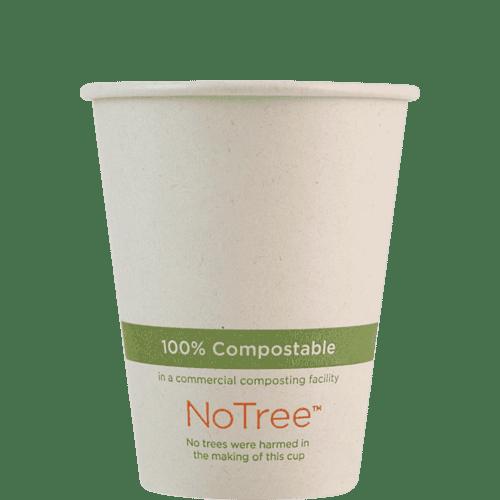 8oz compostable paper cup