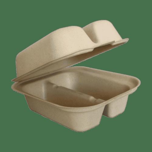 2 compartment taco box