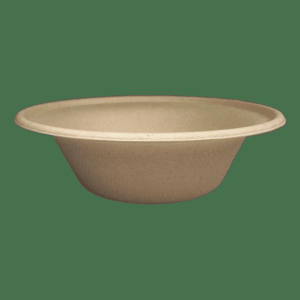 12oz fiber bowl compostable
