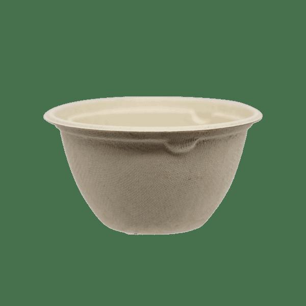 6oz fiber bowl compostable