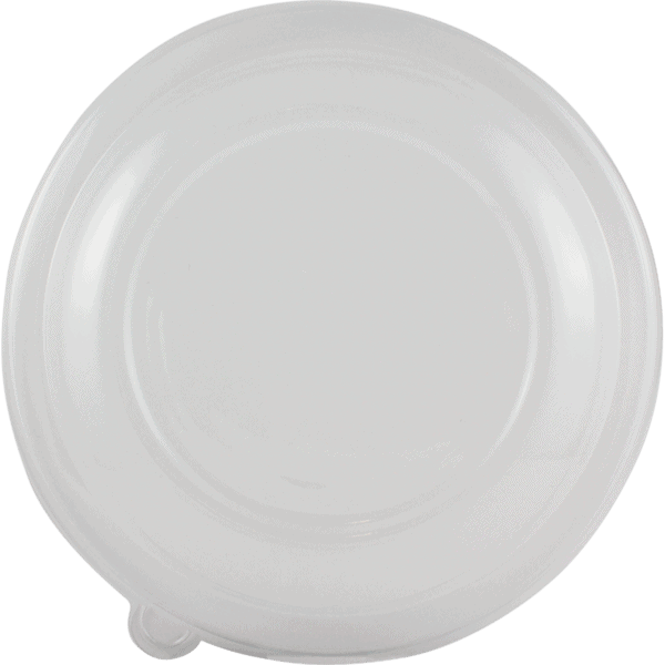 clear pla lid compostable