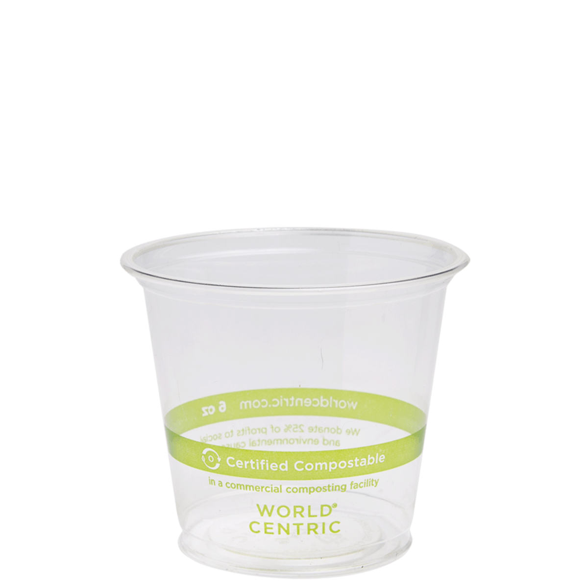 6oz clear cold cup