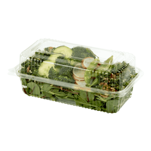 9x5x3 clear clamshell compostable