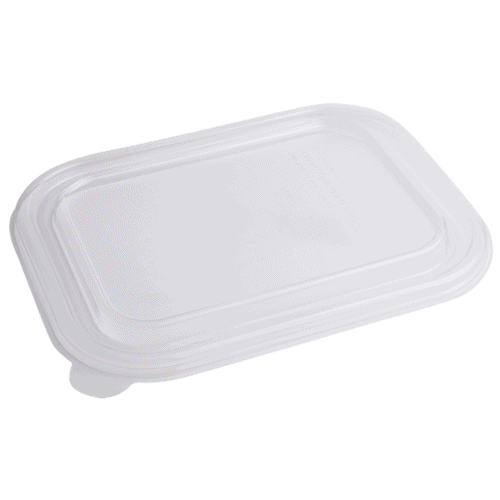 PLA lid for 36oz fiber container