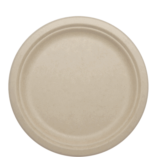 9 inch fiber plate for food