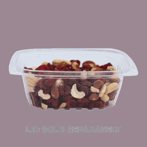 12oz rectangle deli container compostable