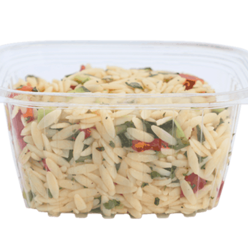 Clear Deli Containers + Lids