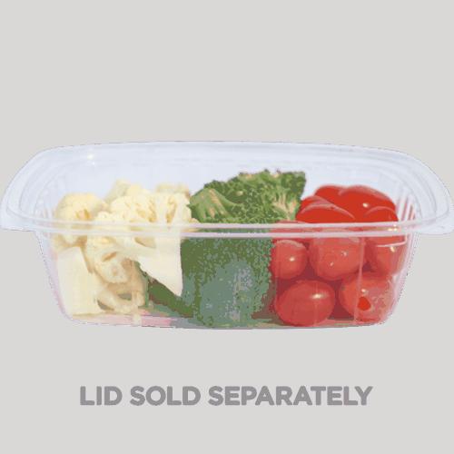 24 oz rectangle deli container compostable