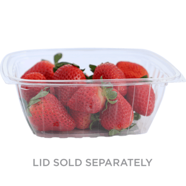 32oz rectangle deli container compostable