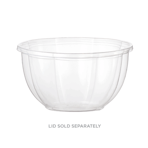 16oz salad bowl clear compostable