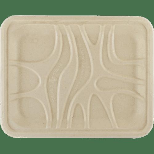 9x7 fiber produce meat tray