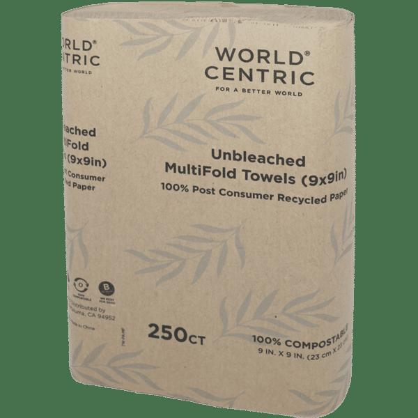 1 ply multifold paper towel brown kraft